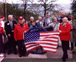 American Army Veteran at the Petersberg Citadel in Erfurt