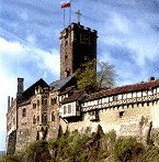 Wartburg Castle near Eisenach City, where Dr. Martin Luther translated the Bible
